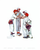 Choosin' Up Arte por Norman Rockwell