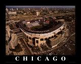 シカゴ・ホワイトソックス - USセルラーフィールド ポスター : マイク・スミス