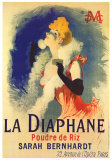 Diaphane Posters por Jules Chéret