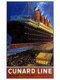 Cunard Line Pôsters