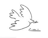 La paloma de la paz Láminas por Pablo Picasso