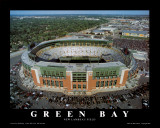 Nuevo estadio Lambeau Field de los Green Bay Packers Láminas
