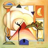 Joie au soleil III Poster par Alfred Gockel