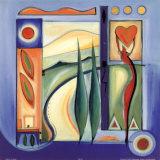Joie au soleil VII Affiches par Alfred Gockel