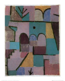 Garten im Orient, c.1937 Plakater af Paul Klee