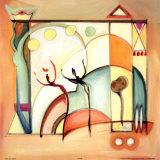 Joie au soleil  VIII Affiches par Alfred Gockel