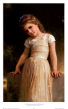 L'Espieglerie Posters af William Adolphe Bouguereau