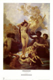 La Naissance de Venus Plakat af William Adolphe Bouguereau