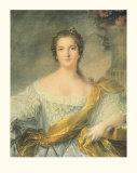 Madame Victoire de France Plakater af Jean-Marc Nattier