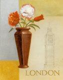 London Floral Views Kunstdrucke von William Verner