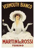 Martini & Rossi Posters av Marcello Du Dovich