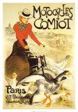 Motocycles Comiot Posters por Théophile Alexandre Steinlen
