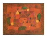 Paesaggio al Tramonto, c.1923 Posters af Paul Klee