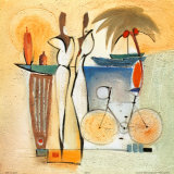 Party of Deux IV Kunstdrucke von Alfred Gockel