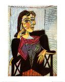 Portrait of Dora Maar, c.1937 Plakater af Pablo Picasso