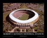 RFKスタジアム - ワシントン・レッドスキンズ - ワールドチャンピオン(1991) 高品質プリント : マイク・スミス