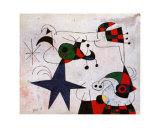Rythme Passage du Serpent Posters af Joan Miró