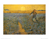 The Sower, c.1888 Kunst av Vincent van Gogh