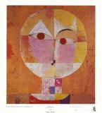 Senecio Plakat av Paul Klee
