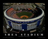 Shea Stadium - New York, New York Print by Mike Smith