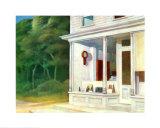 7Uhr am Morgen Poster von Edward Hopper