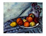Naturaleza muerta Pósters por Paul Cézanne