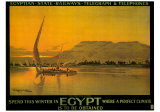Spend This Winter in Egypt Posters por M. Tamplough