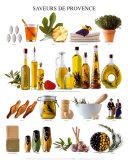 Kostproben der Provence Poster
