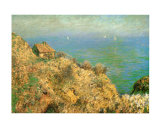 The Custom Officer's House at Varengeville Posters por Claude Monet