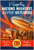 Super Skyliners Print by Kerne Erickson