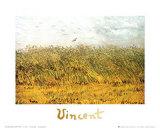 The Wheat Field Kunstdruck von Vincent van Gogh