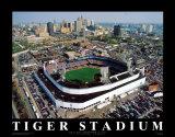 Detroit: stade des Tigers, finale Affiches par Mike Smith