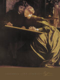 The Painter's Honeymoon, 1864 Plakater af Frederick Leighton
