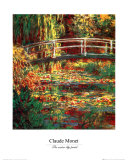 Water Lily Pond Posters por Claude Monet