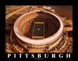 Three Rivers Stadium– Pittsburgh, Pennsylvania Kunstdrucke von Mike Smith