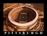 Estadio Three Rivers: Pittsburgh, Pensilvania Arte por Mike Smith