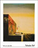 Eggs on a Plate Posters por Salvador Dalí