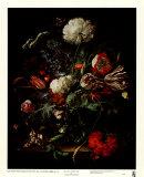 花瓶の花 ポスター : ヤン・ダヴィス・デ・ヘーム