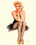 Pin-up de Vargas Affiches par Alberto Vargas