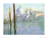 The Grand Canal of Venice Posters av Claude Monet