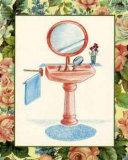 Wash Basins and Robes IV Julisteet tekijänä Sheila Higton
