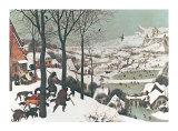 Winter/Hunters in the Snow Poster von Pieter Bruegel the Elder