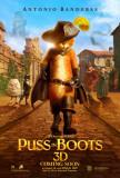gato con botas, El|Puss in Boots Póster