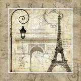 Paris Holiday Posters por Keith Mallett