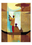 On the River II Posters por Keith Mallett
