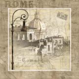 When in Rome Art by Keith Mallett