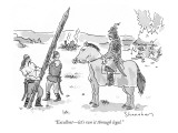 """Excellent—let's run it through legal."" - New Yorker Cartoon Premium Giclee Print by Danny Shanahan"