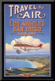 Travel by Air Impressão montada por Kerne Erickson
