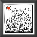 One Man Show (details) Posters by Keith Haring