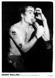 Henry Rollins-100 Club 1983 Poster